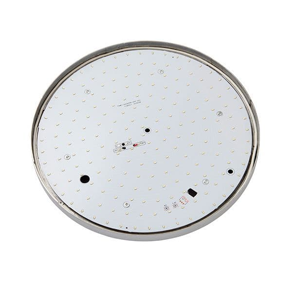 Saxby Noble 300mm Round Flush IP44 22w Cool White 54479 By Massive Lighting